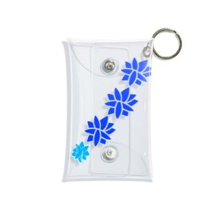 青と青 Mini Clear Multipurpose Case
