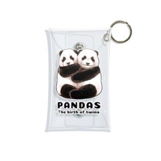 PANDAS【パンダonly特別版】 Mini Clear Multipurpose Case