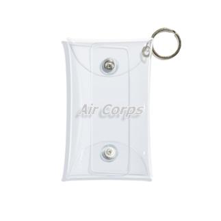 航空隊 Air Corps 航空 飛行機 空港 エアライン Mini Clear Multipurpose Case