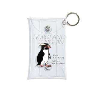 フィヨルドランドペンギン Mini Clear Multipurpose Case