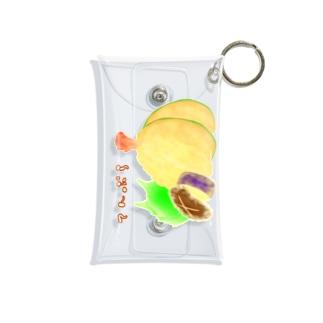 てんぷら盛り合わせ ロゴ入り 縦長 Mini Clear Multipurpose Case