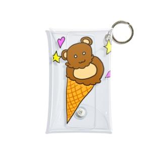 熊アイス Mini Clear Multipurpose Case