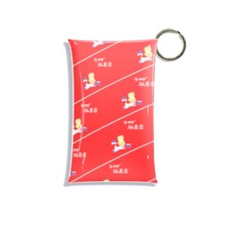 ラクダ玩具店の包装紙 Mini Clear Multipurpose Case