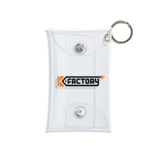 K-FACTORY ロゴ Mini Clear Multipurpose Case