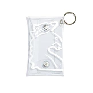 ユニコーンホワイト Mini Clear Multipurpose Case