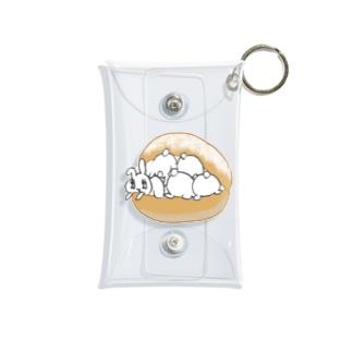 うさトッツォ(おしりver.) Mini Clear Multipurpose Case
