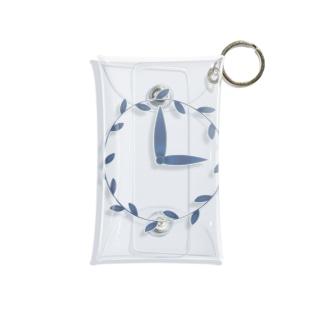 時計/grass Mini Clear Multipurpose Case