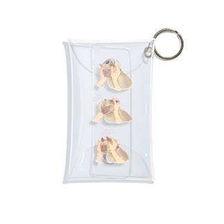 三段展開 Mini Clear Multipurpose Case
