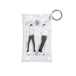 よしもと芸人オフィシャルショップのzakkaYOSHIMOTO おいでやすこが Mini Clear Multipurpose Case