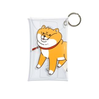 散歩から帰りたくない柴犬 Mini Clear Multipurpose Case