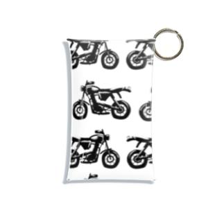 かっこいいバイク Mini Clear Multipurpose Case