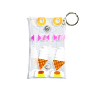 Yusuke おかし Mini Clear Multipurpose Case