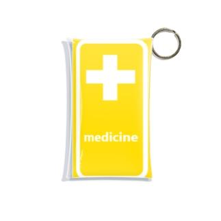 薬 medicine 💊 Mini Clear Multipurpose Case