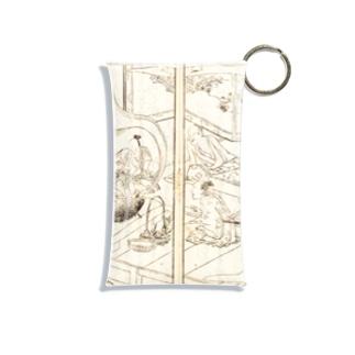 夢応の鯉魚(裏写り低減版)L Mini Clear Multipurpose Case