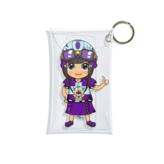 ちびキャラ/POPTYPE【一ノ瀬彩】 Mini Clear Multipurpose Case