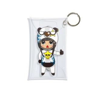 ちびキャラ/FUNKYTYPE【一ノ瀬彩】 Mini Clear Multipurpose Case