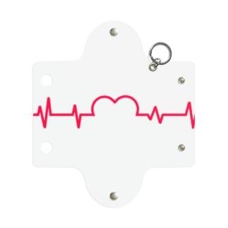 ズッキュン Mini Clear Multipurpose Case