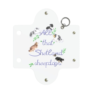 All that Shetland sheepdogs Mini Clear Multipurpose Case