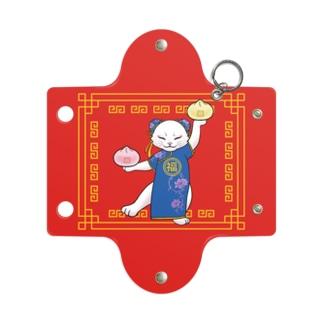 中華料理屋の看板猫 Mini Clear Multipurpose Case