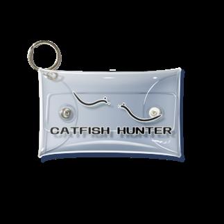 つりてらこグッズ(釣り好き&おもしろ系)の鯰追人ケース小 Mini Clear Multipurpose Case