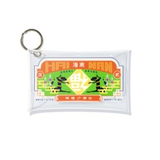 ちゃいなんハイナン - カラフルver- Mini Clear Multipurpose Case