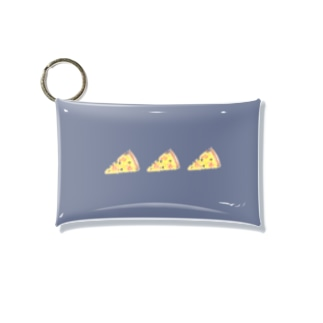 pizza dark Mini Clear Multipurpose Case