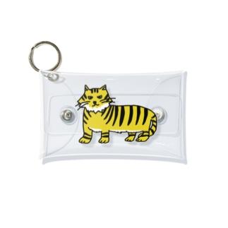うろ覚えのトラ Mini Clear Multipurpose Case