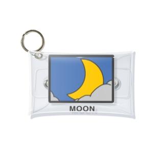 月のクリアケース Mini Clear Multipurpose Case
