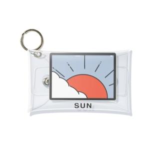 太陽のミニクリアケース Mini Clear Multipurpose Case