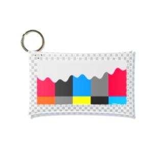 Color Bar Arp Mini Clear Multipurpose Case