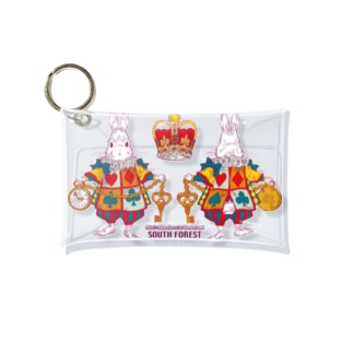 Alice White Rabbit アリスの白ウサギ Mini Clear Multipurpose Case