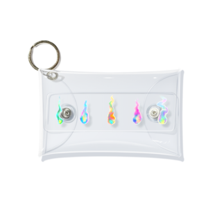 MoyoMoyo ささちのアートショップのいのちのほのおコレクション2 Mini Clear Multipurpose Case