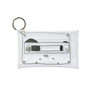 カセットテープミニマルチケース Mini Clear Multipurpose Case
