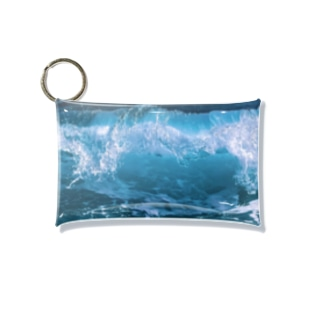 Rough Seas Mini Clear Multipurpose Case