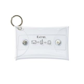 カワルモノ。 Mini Clear Multipurpose Case
