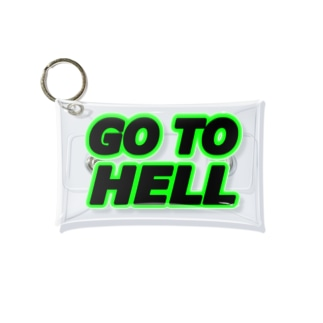 GO TO HELL Mini Clear Multipurpose Case