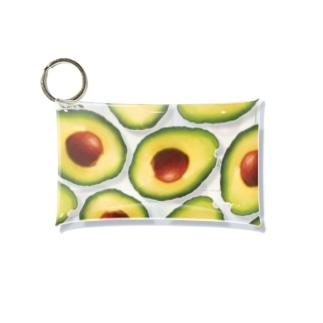 Avocado party Mini Clear Multipurpose Case