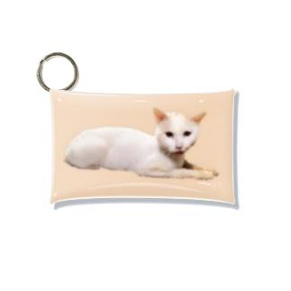 うちの猫ら 2号店のおかき Mini Clear Multipurpose Case