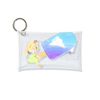空色アイスキャンディー Mini Clear Multipurpose Case