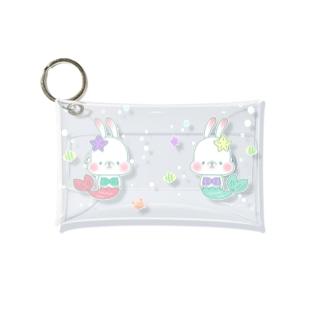 うさちゃんマーメイドのクリアケース Mini Clear Multipurpose Case