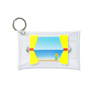 夏の日の窓辺 Mini Clear Multipurpose Case