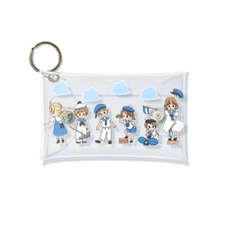セーラーガールズ&ボーイズ Mini Clear Multipurpose Case
