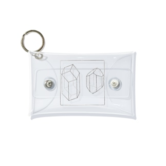 輝石及び角閃石 Mini Clear Multipurpose Case