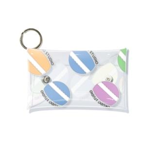 OKUDO STUDIO カラフル Mini Clear Multipurpose Case