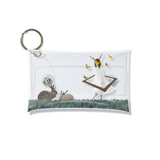 とある鹿人の夢 Mini Clear Multipurpose Case