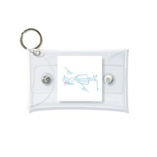 待ち合わせびと Mini Clear Multipurpose Case