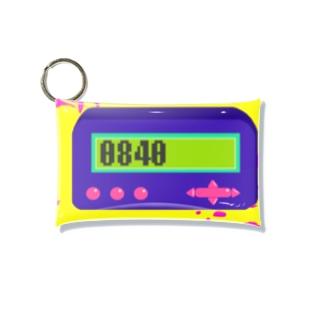ポケットベル0840 Mini Clear Multipurpose Case