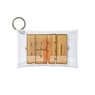 昭和レトロシリーズ「郵便ポスト」 Mini Clear Multipurpose Case