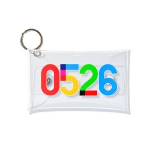 0526_誕生日_記念日_カラー Mini Clear Multipurpose Case