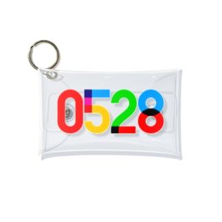 0528_誕生日_記念日_カラー Mini Clear Multipurpose Case